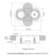 BLOC 1 PRISE ET USB EIGHT AFFLEURANT